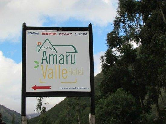 Amaru Valle Hotel: Entrada del hotel