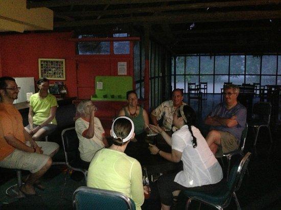 Amazon Explorama Lodges: Main bar at Explorama Lodge