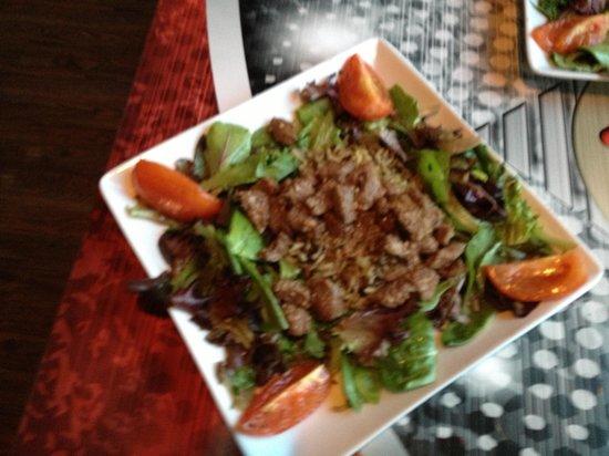 Red Restaurant : Bo Luc Lac their signature dish