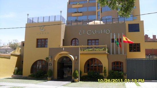 El Cabildo : Fachada do hotel