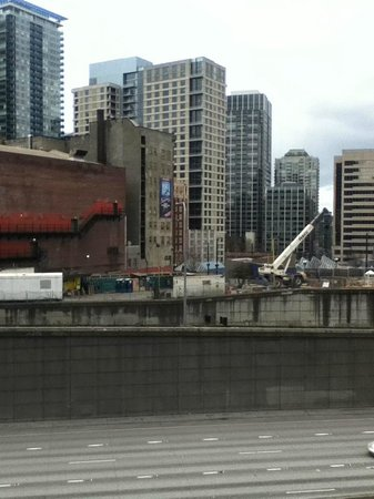 Homewood Suites by Hilton Seattle-Conv Ctr-Pike Street: View across from entrance