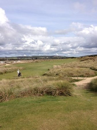 Barnbougle Dunes: don't go left