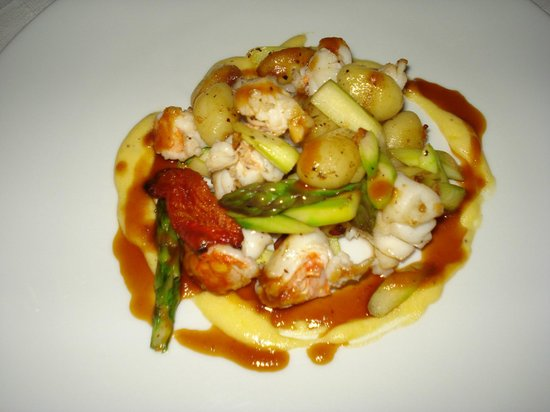 Hechizo: Lobster tail w.gnocchi