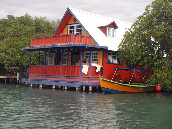 Parguera Water Sports and Adventures: Colorful House