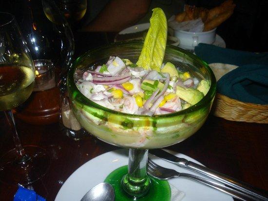 Altamar Restaurant and Lounge : Ceviche