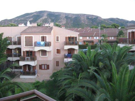 Albir Garden Resort: View from room