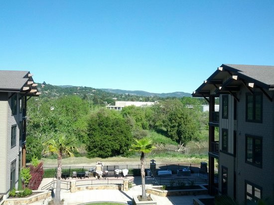 The Westin Verasa Napa: view from balcony