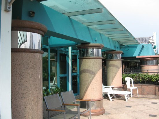 โรงแรมเดอะเรสซิเดนซ์ แอท สิงคโปร์ รีครีเอชั่นคลับ: patio
