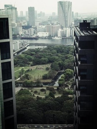 Park Hotel Tokyo: view from the 29th floor
