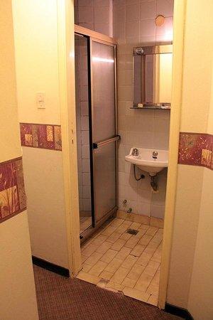 Hotel Central Cordoba: The bathroom.