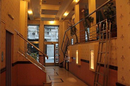 Hotel Central Cordoba: Reception area.