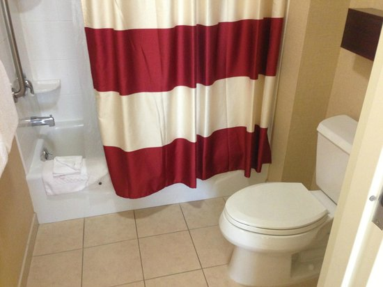 Residence Inn by Marriott Camarillo: Shower and toilet