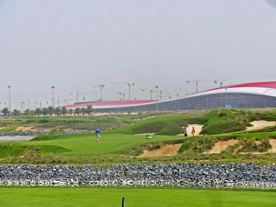 Yas Links Abu Dhabi: nice links course