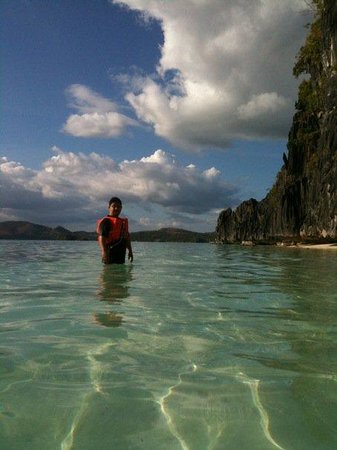 Banol Beach : Crystal Clear white sand beach