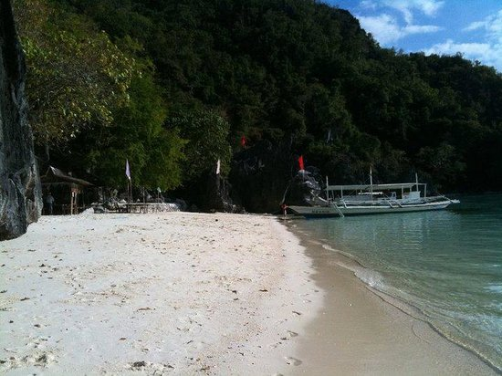 Banol Beach: Crystal Clear white sand beach
