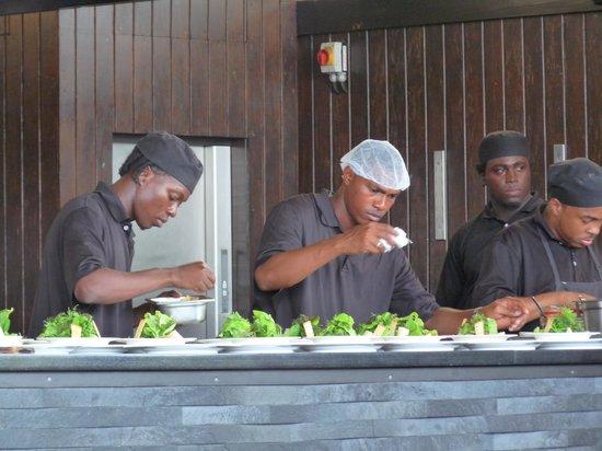 Boucan by Hotel Chocolat: Open cuisine