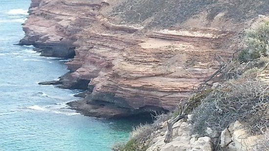 ‪Kalbarri National Park Coastal Cliffs‬