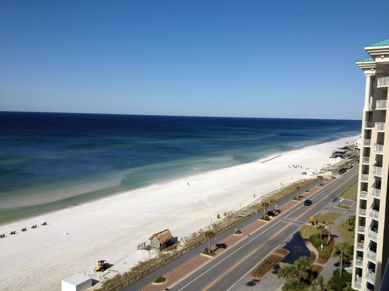 Majestic Sun at Seascape Resort: View from 10th floor of Majestic Sun