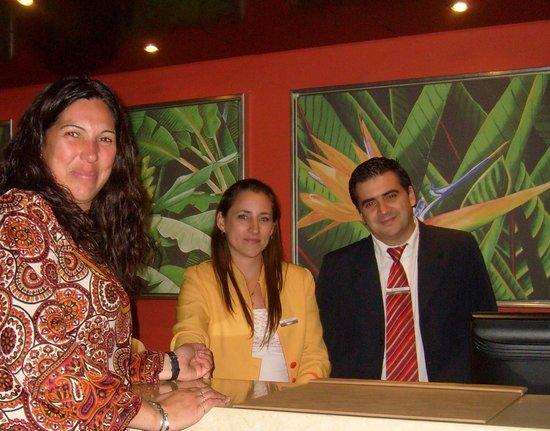 Grand Crucero Iguazu Hotel: Excelente calidez humana
