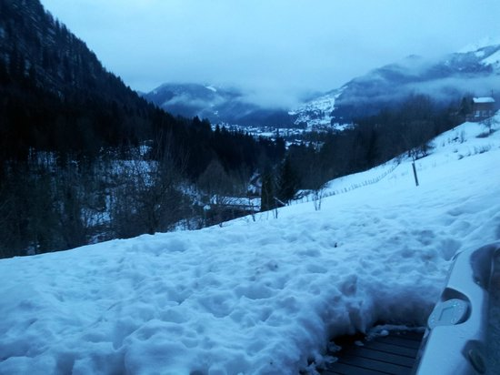 AliKats Mountain Holidays - Ferme a Jules: View from the hottub