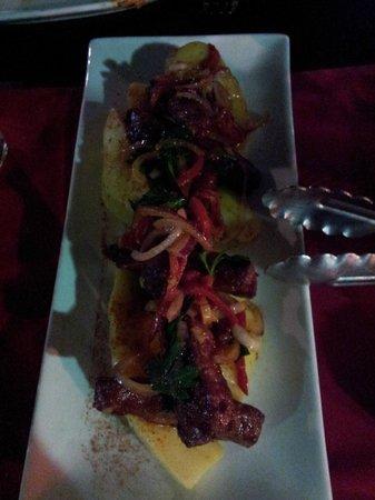 Espana Tapas Bar: Chirozo dish