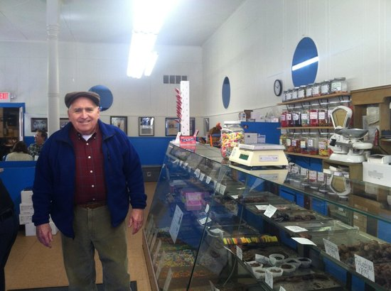The Sweet Shop: Dad at the Candy Counter