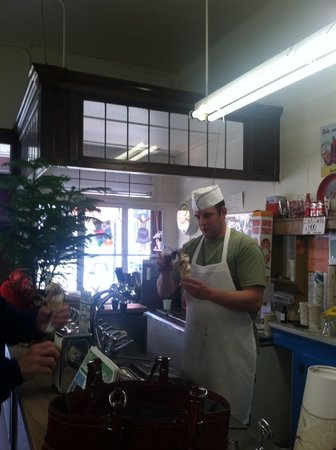 The Sweet Shop: Making my cone