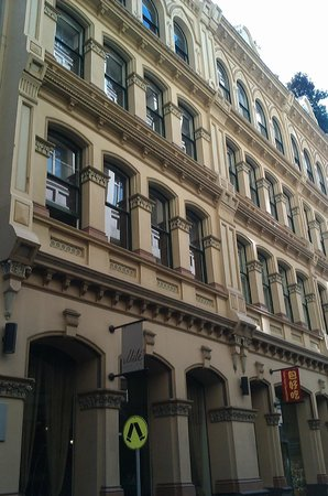 The Sebel Melbourne Flinders Lane: Flinders Lane, diagonally across Mercure