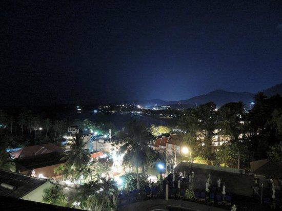 Orchidacea Resort: Вечерний вид из номер