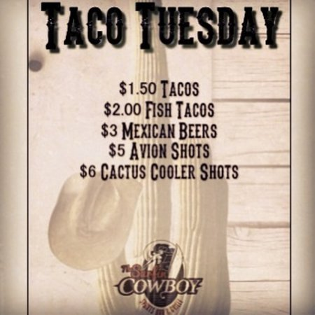 The Surfin Cowboy: Taco Tuesdays
