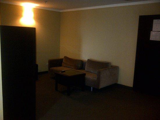 Hotel Brisas del Norte : Sala en Habitacion