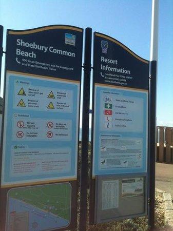 Shoebury Common Beach