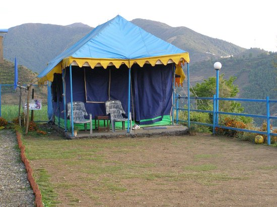 Blue Canvas Resort: Our Tent