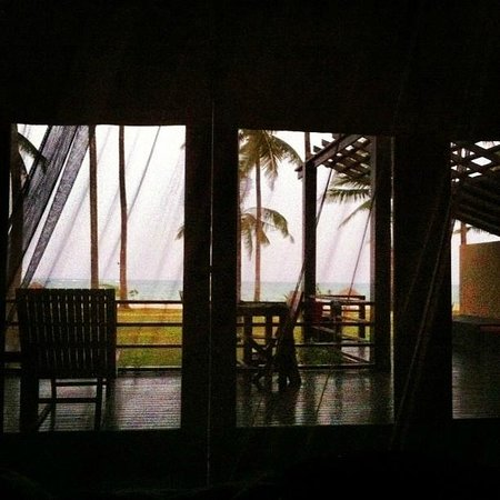 Bay of Bengal Resort: the view from bed