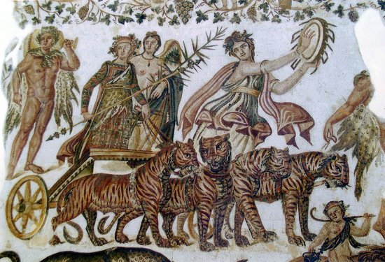 Sousse Archaeological Museum : The Triumph of Dionisis (my favourite mosiac)