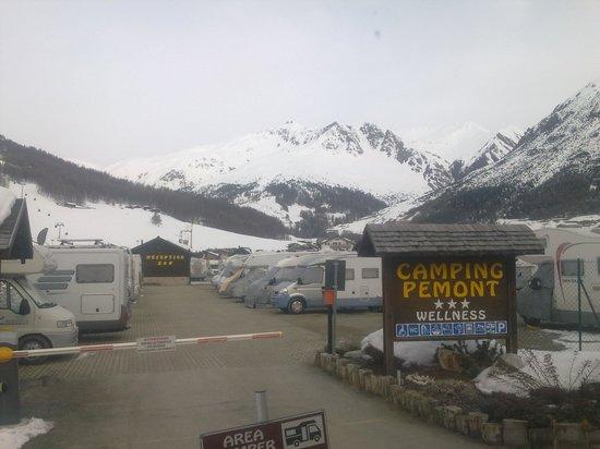 Camping Pemont: ingresso