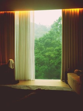 Padma Hotel Bandung: room overlooking the hill