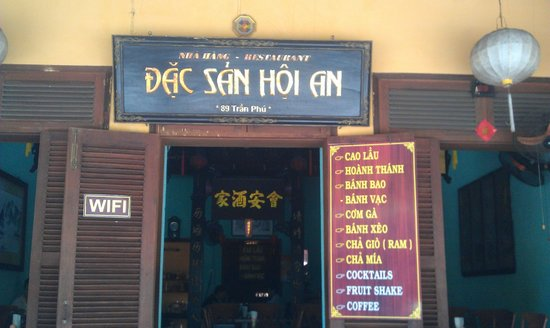 Dac San Hoi An : dia diem