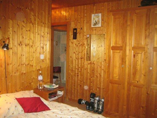 Hotel de Moiry: chambre