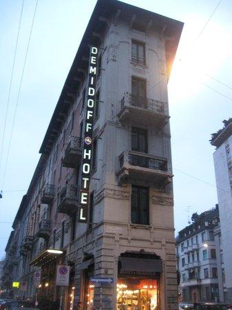 Demidoff Hotel: Demidoff al tramonto