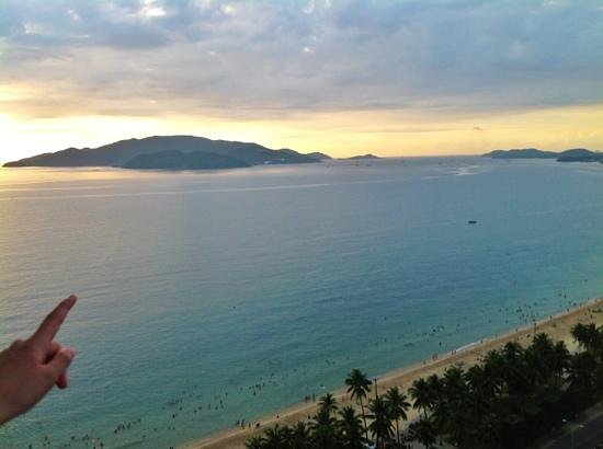 Sheraton Nha Trang Hotel and Spa: View from the room