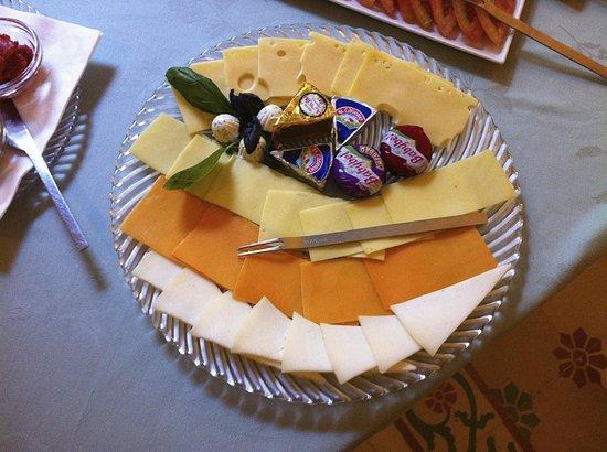 Casa Grande: Teil des Frühstücks
