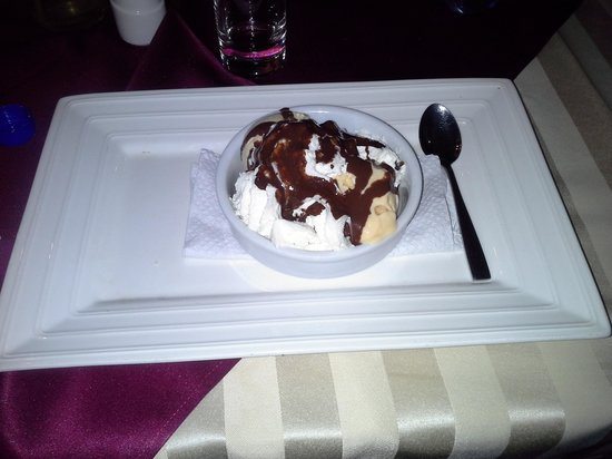 Hotel Botanika : enjoyed the ice cream