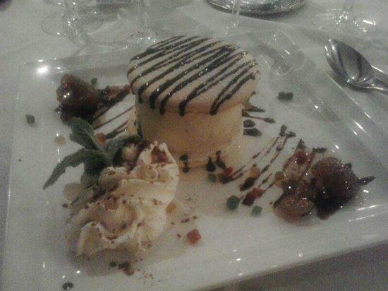 Hotel Chez Walter : Un dessert servito al ristorante di Chez Walter
