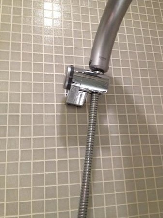 My Bloomsbury: broken shower head holder