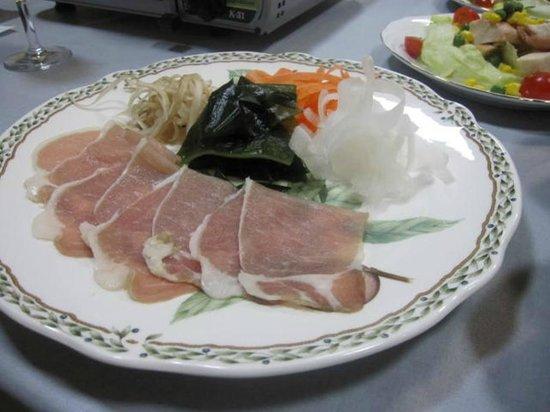 Matsuya Ryokan: 豚しゃぶ