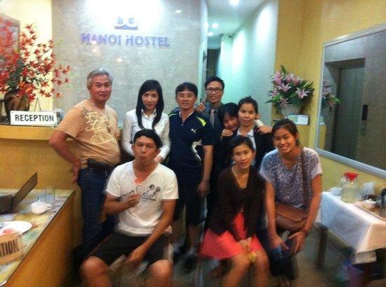 B&B Hanoi Hotel : Happy time