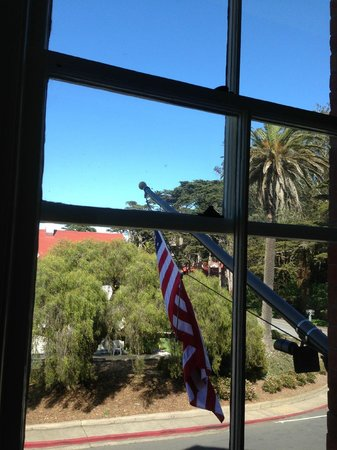 Inn at the Presidio: View from 2nd floor king room.