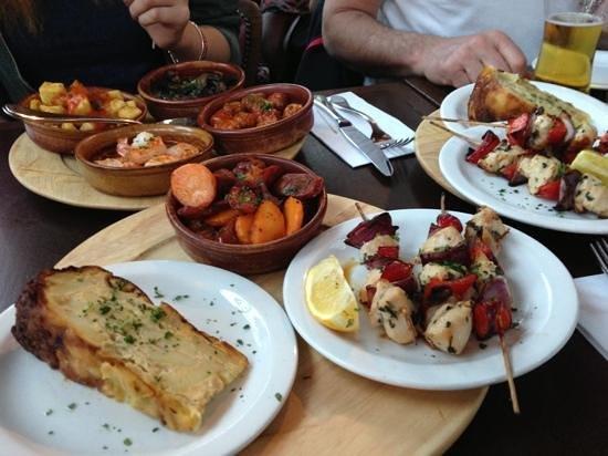 Ortega: sharing platter