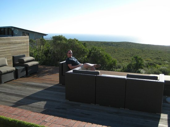 Grootbos Private Nature Reserve: Just chilling out